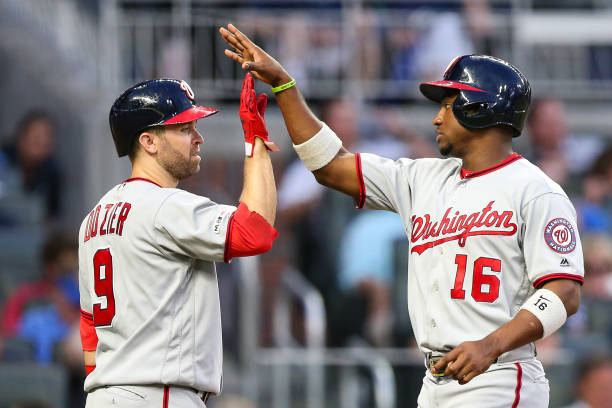 GA: Washington Nationals  v Atlanta Braves
