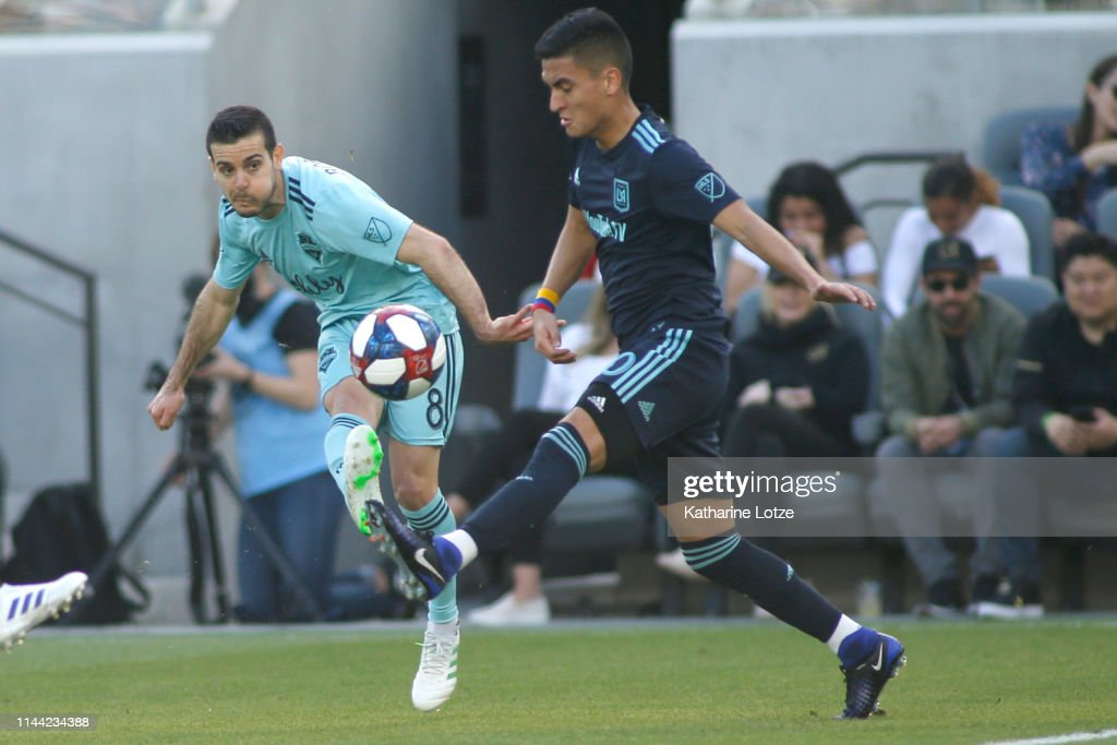 Seattle Sounders FC v Los Angeles FC : News Photo