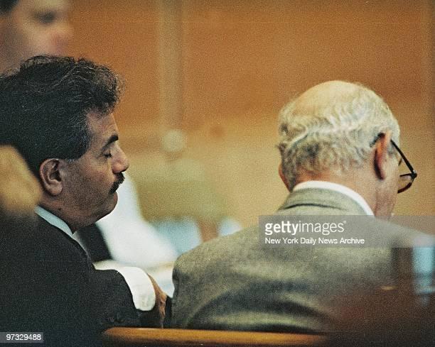 Victor Ruggiero and Mike DiSalvatore Defense investigators in the 'Fatal Attraction trial of Carolyn Warmus