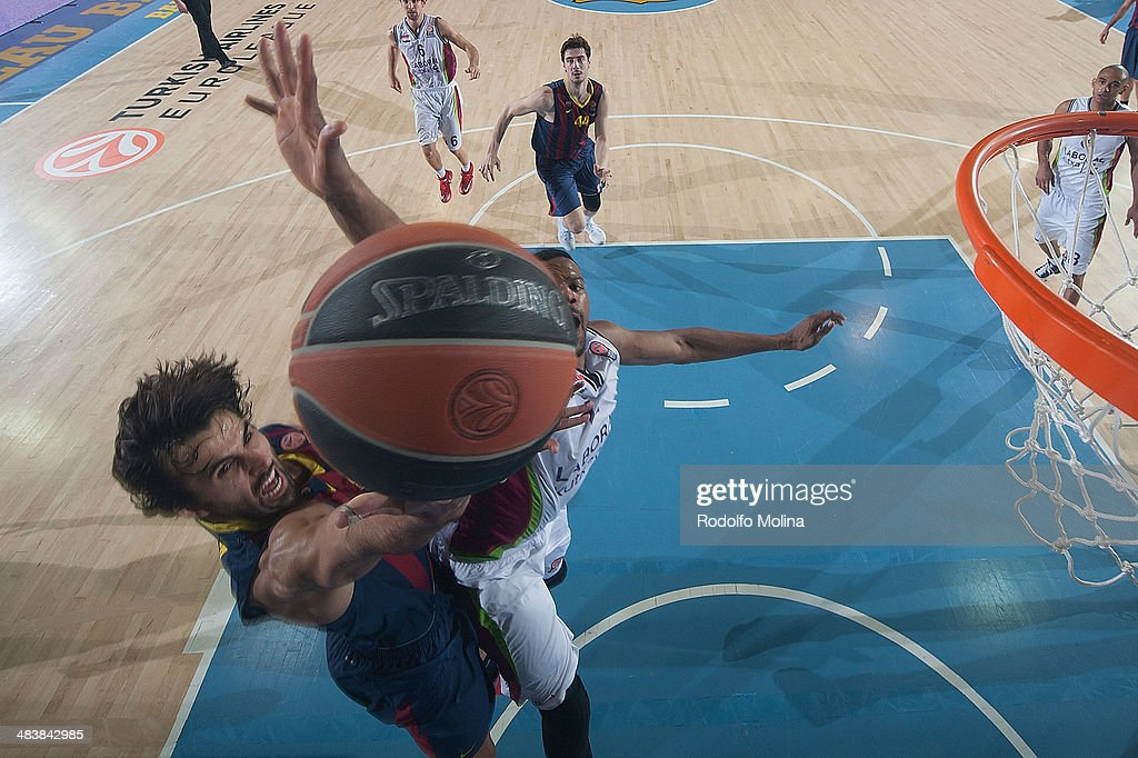 FC Barcelona Regal v Laboral Kutxa Vitoria - Turkish Airlines Euroleague Top 16