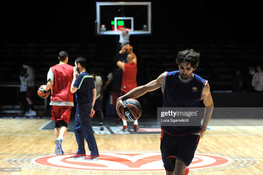 FC Barcelona Practice - Turkish Airlines EuroLeague Final Four