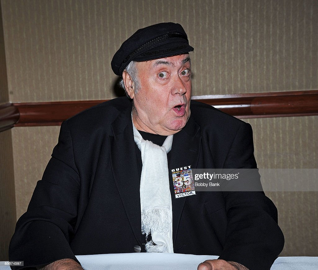 Victor Spinetti attends the 35th Anniversary of The Fest For Beatles Fans celebration at the Crowne Plaza Meadowlands on March 27, 2009 in Secaucus, New Jersey.