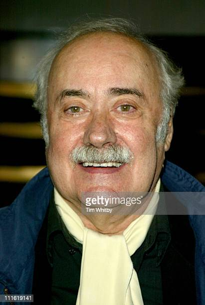 Victor Spinetti during Best of British Comedy Lunch September 29 2005 at BAFTA in London Great Britain