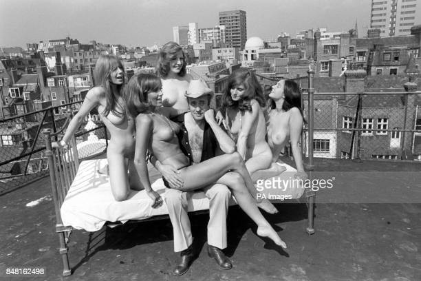 Victor Spinetti is to direct the new Paul Raymond sex comedy Let's Get Laid at the Windmill Theatre London Star of the show is nude model Fiona...