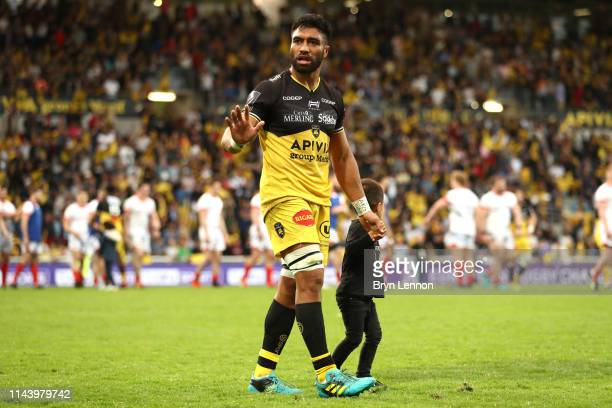 Victor Tito of Stade Rochelais after the match during the Challenge Cup Semi Final match between La Rochelle and Sale Sharks at on April 20, 2019 in...