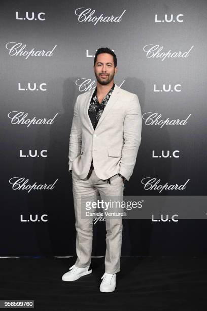 Victor Turpin attends the Chopard Gentleman's Night during the 71st annual Cannes Film Festival at Martinez Hotel on May 9 2018 in Cannes France