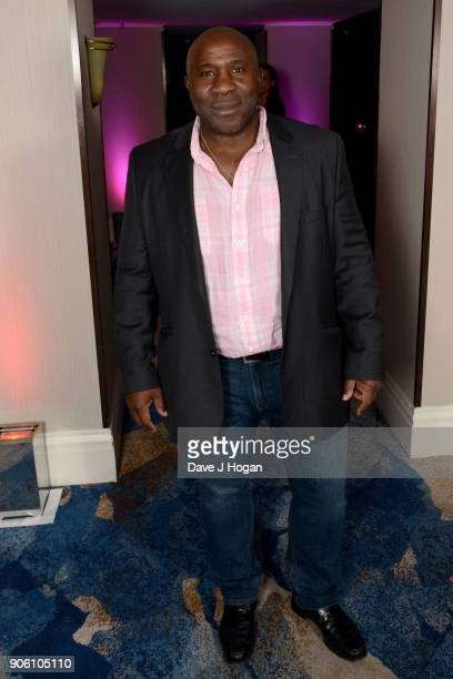 Victor Ubogu attends The Nordoff Robbins Six Nations Championship Rugby dinner held at Grosvenor House on January 17 2018 in London England