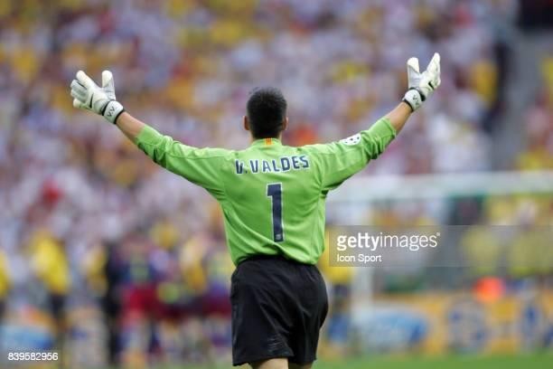 Victor VALDES Fc Barcelone / Arsenal Finale de la Ligue des Champions Stade de France Paris