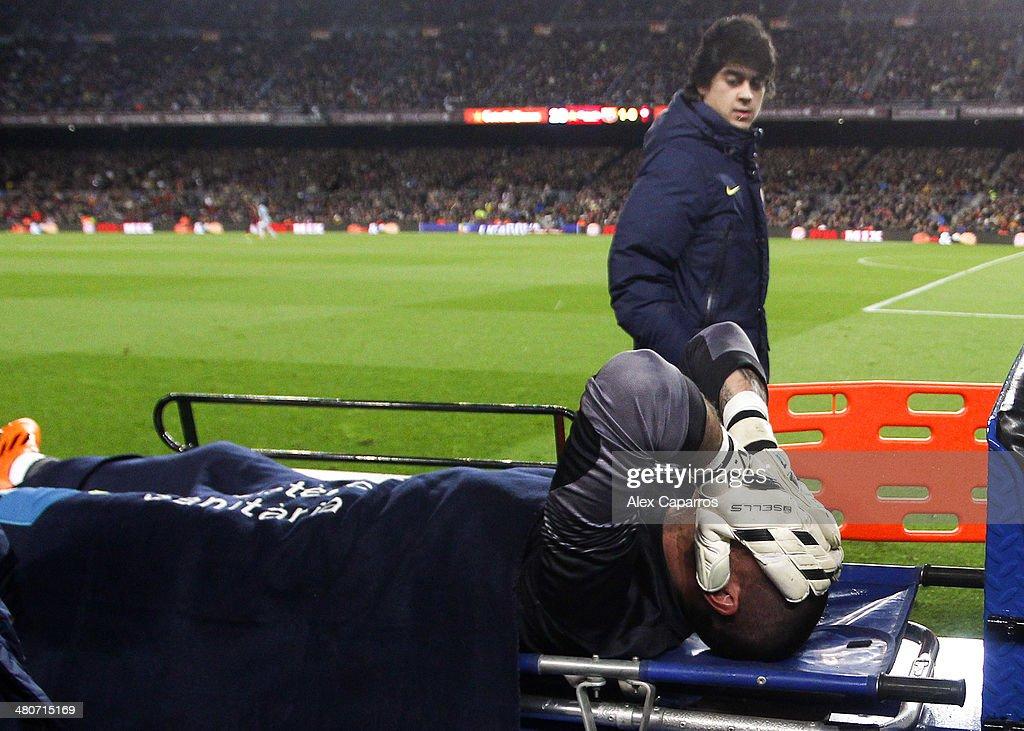FC Barcelona v RC Celta de Vigo - La Liga : News Photo