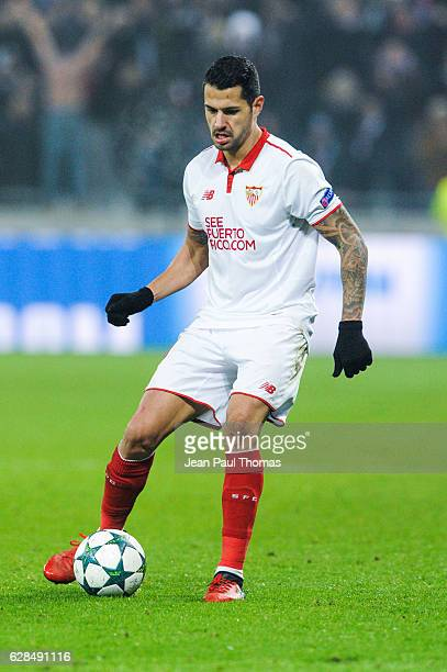 Victor VITOLO of Seville during the Champions League match between Lyon and Sevilla at Stade des Lumieres on December 7 2016 in DecinesCharpieu France