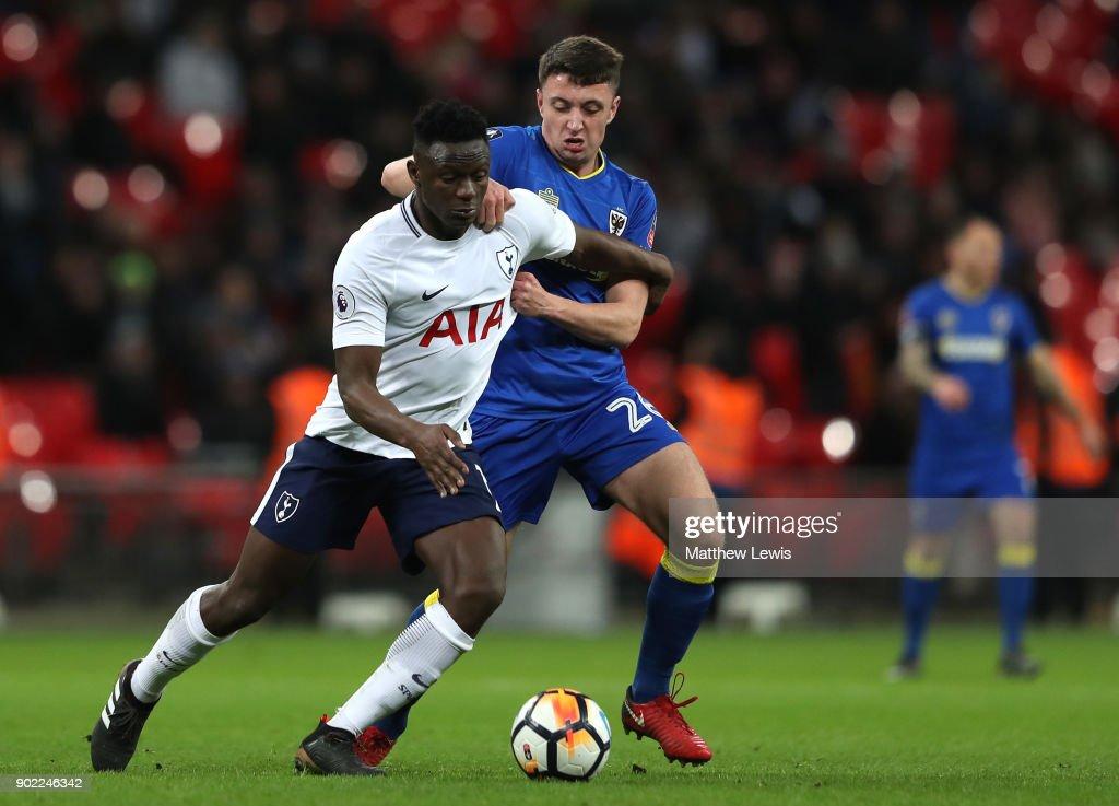 Tottenham Hotspur v AFC Wimbledon - The Emirates FA Cup Third Round : News Photo