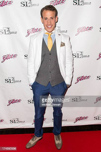 Victor WeirVoronov attends Johnny Weir Victor WeirVoronov's Birthday Celebration at Soho Grand Hotel on July 27 2013 in New York City