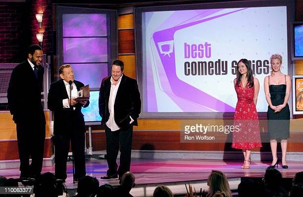 Victor Williams Jerry Stiller Gary Valentine Danica McKellar and Kaley Cuoco