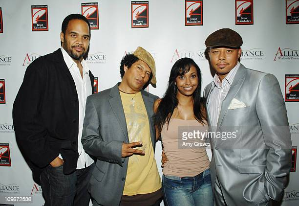 Victor Williams Jesse Raudales Jazsmin Lewis and Terrence Howard