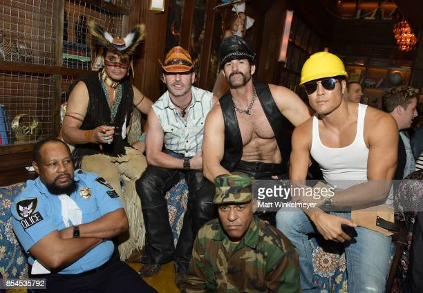 Victor Willis Angel Morales Chad Freeman Sonny Earl JJ Lippol James Kwong of Village People at go90 Streamys After Party at Poppy on September 26...