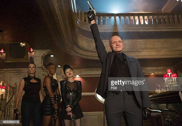 Victor Zsasz pays a visit to Fish Mooney's nightclub in the 'Welcome Back Jim Gordon' episode of GOTHAM airing Monday Jan 26 2015 on FOX