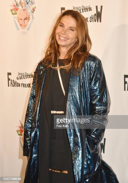 Victora Abril attends Jean Paul Gaultier Fashion Freak Show Premiere at Follies Bergeres on September 28 2018 in Paris France