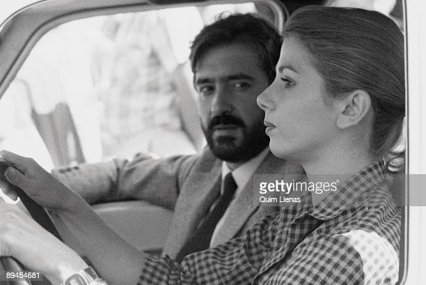 Victoria Abril and Patxi Andion in 'Murder in the Central Commitee' A shot of the movie directed by Vicente Aranda