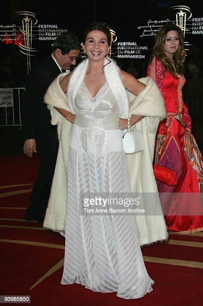 Victoria Abril attends the John Rabe premiere at the 9th Marrakesh Film Festival at the Palais des Congres on December 4, 2009 in Marrakech, Morocco.