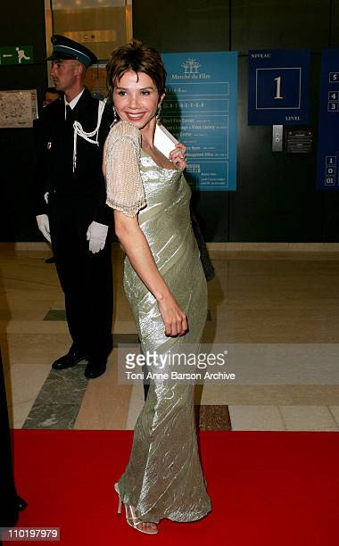 Victoria Abril during 2004 Cannes Film Festival Opening Night Dinner at Man Ray House in Cannes France