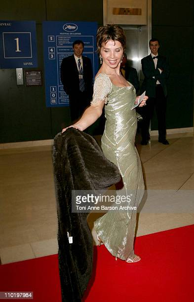 Victoria Abril during 2004 Cannes Film Festival - Opening Night Dinner at Man Ray House in Cannes, France.
