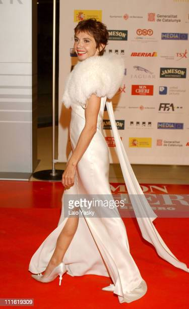 Victoria Abril during 2004 European Film Academy Awards at The Forum in Barcelona, Spain.