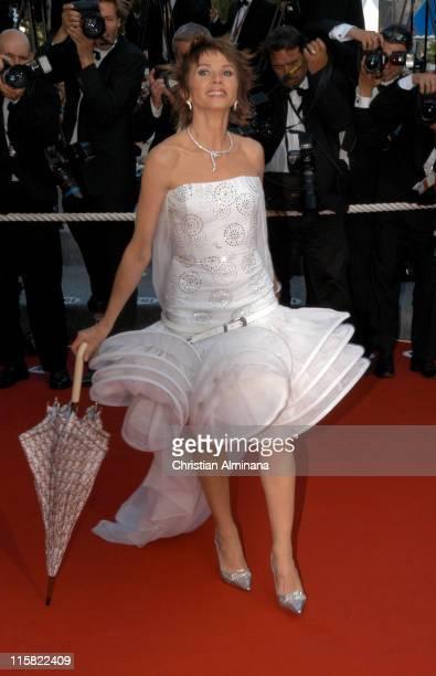 "Victoria Abril during 2005 Cannes Film Festival - ""Cache"" Premiere at Palais de Festival in Cannes, France."