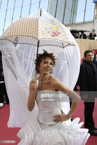 "Victoria Abril during 2005 Cannes Film Festival - ""Cache"" Premiere at Festival Du Palais in Cannes, France."