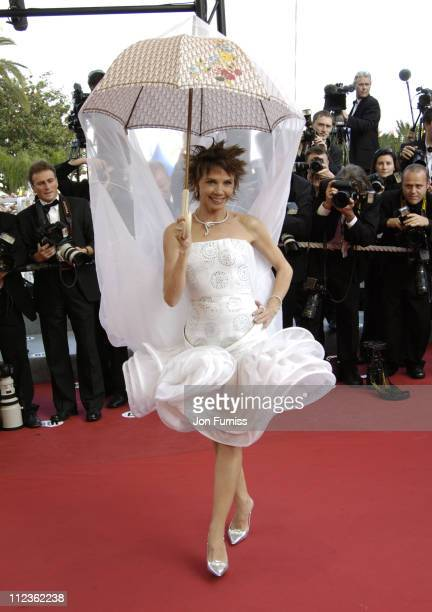 Victoria Abril during 2005 Cannes Film Festival 'Cache' Premiere at Festival Du Palais in Cannes France