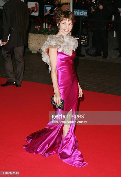 Victoria Abril during 2005 NRJ Music Awards Arrivals at Palais des festivals in Cannes France