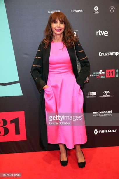 Victoria Abril during the European Film Awards at Teatro de la Maestranza on December 15 2018 in Seville Spain
