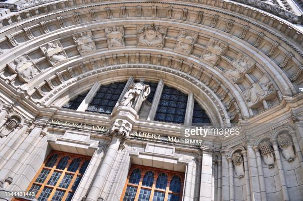 victoria and albert museum, london - victoria and albert museum london stock pictures, royalty-free photos & images