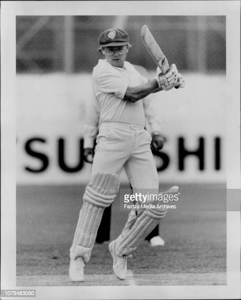 Victoria at SCG Cricket Wellham takes a single of BallamDirk Wellham one of eight NSW stars who could be on tour October 29 1983