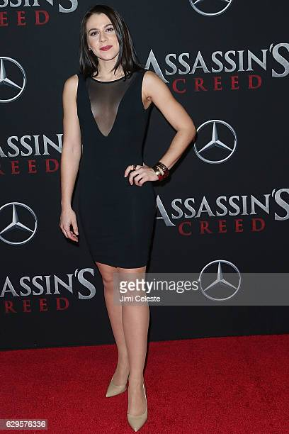 Victoria Atkins ttends the Assassin's Creed New York Premiere at AMC Empire 25 theater on December 13 2016 in New York City