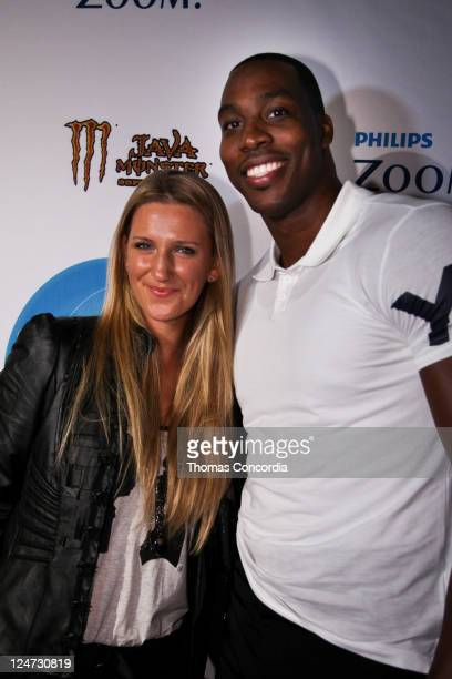 Victoria Azarenka and Dwight Howard arrive at STYLE360's 1st Annual Sport and Style Party Hosted by Dwight Howard and Victoria Azarenka with Boy...