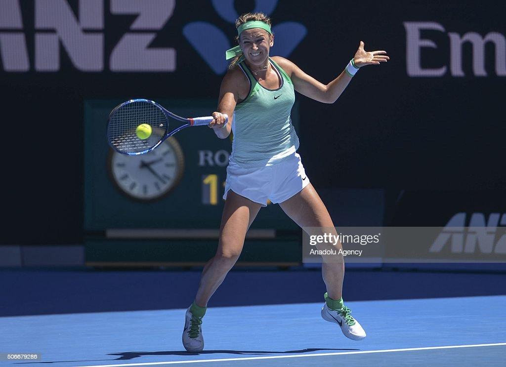 2016 Australian Open - Day 8 : News Photo