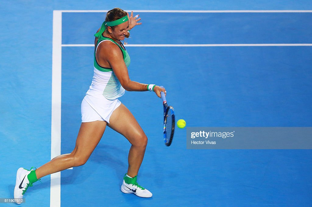 Telcel ATP Mexican Open 2016 - Azarenka v Hercog : News Photo