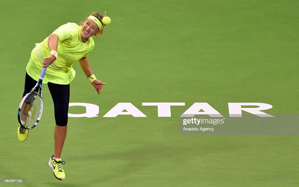 Qatar Total Open 2015 : News Photo