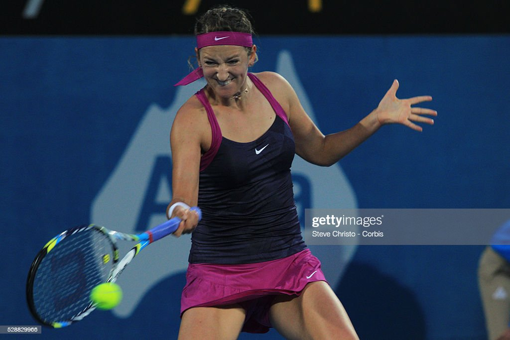 Tennis - Apia International 2012 - Women's Final - Victoria Azarenka : News Photo
