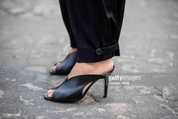 Victoria Barbara seen wearing Givenchy heels during Paris Fashion Week Womenswear Spring Summer 2020 on September 29 2019 in Paris France