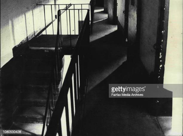 Victoria Barracks Ghost The walk in the upper section heard shuffling about at night July 30 1973