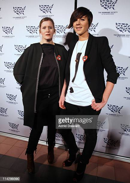 Victoria Bartlett and Ingrid Bergstrom-Kendrick attend The Humane Society of the United States & The Art Institute's Fifth Annual Cool vs. Cruel...
