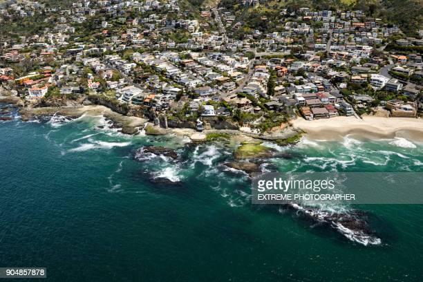 victoria beach - laguna beach - california meridionale foto e immagini stock