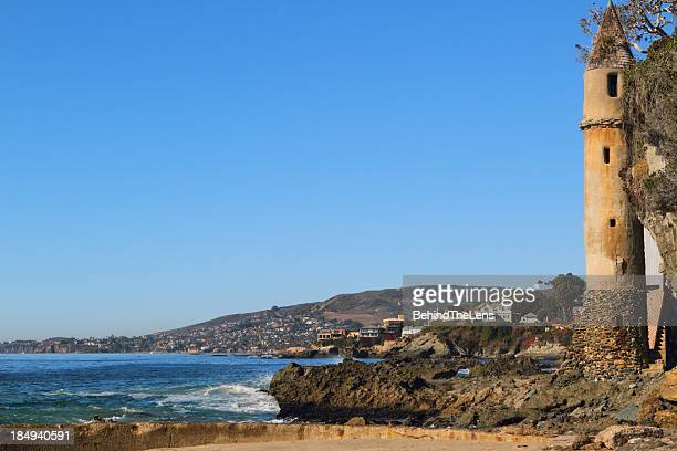 victoria beach - laguna beach california stock pictures, royalty-free photos & images