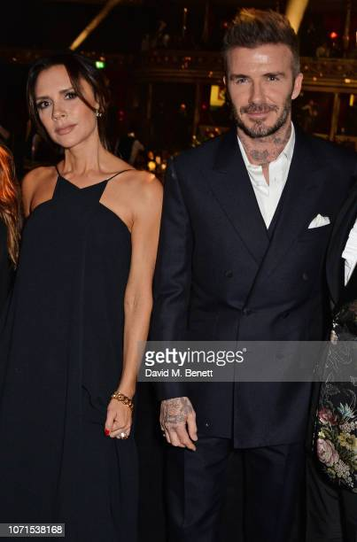 d51b71523 Victoria Beckham and David Beckham attend The Fashion Awards 2018 in  partnership with Swarovski at the