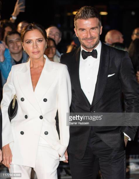 Victoria Beckham and David Beckham attend the GQ Men Of The Year Awards 2019 at Tate Modern on September 03 2019 in London England