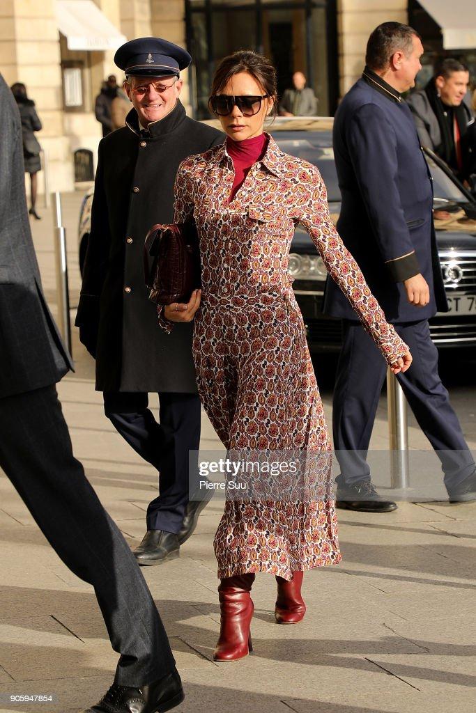 Celebrity Sightings -Paris Fashion Week - Menswear Fall Winter 2018/2019 : Day Two
