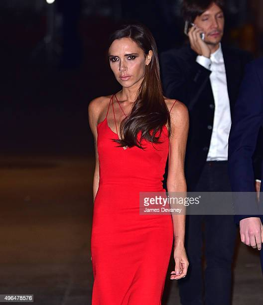Victoria Beckham arrives to the 2015 Glamour Women of The Year Awards at Carnegie Hall on November 9 2015 in New York City