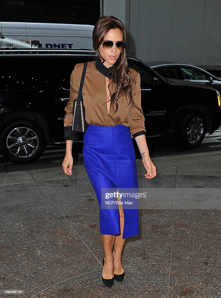 Celebrity Sightings In New York - May 9, 2013 : News Photo