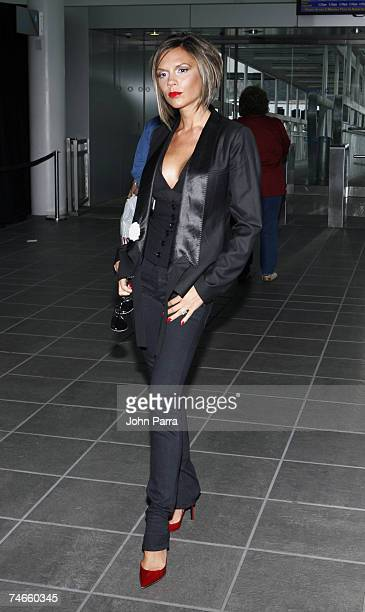 Victoria Beckham at the Pier 97 in New York City New York